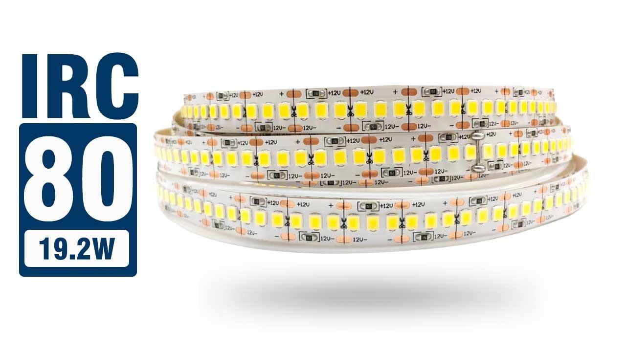 Fita LED 2835 IP20 - 19,2W/M - 27.600 lúmens