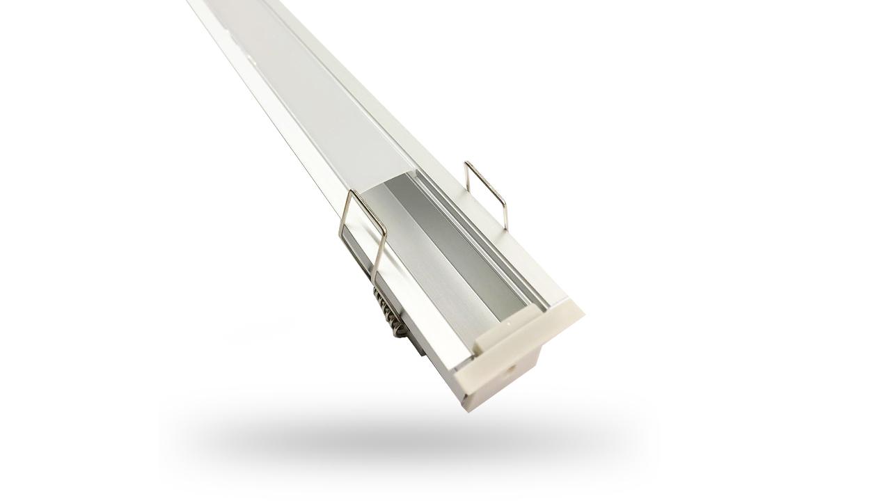 Perfil de Alumínio para LED 2 Metros