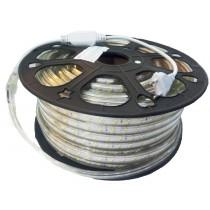 Fita LED 2835 IP67 (Externa) 9,6W - 120Leds /metro - 220V - (Pedaço com 5 metros sem corte)