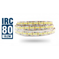 Fita LED 2835 IP20 - Rolo 5m (1200Leds) 19,2W/M - 27.600 lúmens - IRC >80 - Alto Brilho