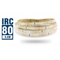 Fita LED 2835 IP65 - Rolo 5m (300Leds) - 5,5w/m 6.900 lúmens - IRC > 80 - Alto Brilho