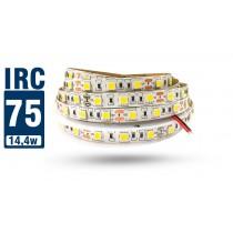 Fita LED 5050 IP20 (Interna) - Rolo 5m (300Leds) 18Lm por Led - IRC >75 - Alto Brilho
