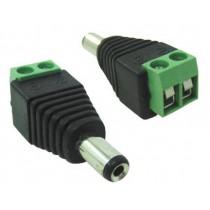 Conector Dc P4 LI-R Com Borne Para Fita de Led