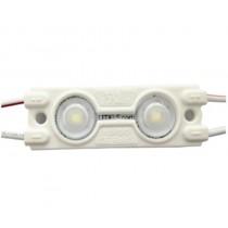 [100 pçs] - Módulo de 2 LEDS 5730 IP67 0.8W  60 Lúmes - Branco Frio [6500K]
