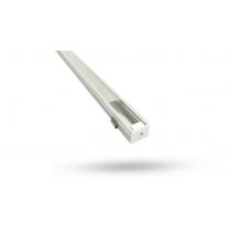 Perfil de Alumínio para LED 3 Metros - sobrepor 12.1mm