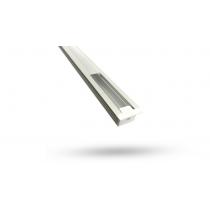 Perfil de Alumínio para Fita de LED - EMBUTIR - BARRA 3 METROS - ALTURA 12.2mm - Branca