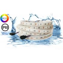 Fita LED 5050 IP68 RGB