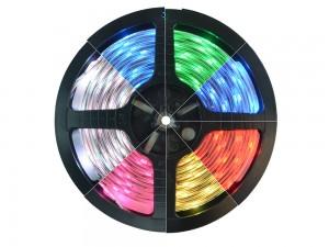 Fita LED 5050 IP20 (Uso Interno) - Rolo 5m (300Leds) RGB (Fitas)
