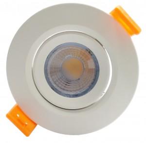 Luminária Dicroica Embutir 3W Redonda